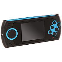 Портативная игровая система DVTech Sovereign 16 бит, черно-синийVG-1625DVTech Sovereign - это современная портативная консоль формата 16-bit, имеет 20 встроенных игр разных жанров. В качестве носителя информации используется карта памяти SD (в комплект не входит), на которую можно самостоятельно записывать ромы игр Sega. Это позволит иметь всегда под рукой большую библиотеку игр, собранных по Вашему вкусу. Технические характеристики: Процессор: 16-битный. Экран: 2,8 дюйма. AV-выход. Регулировка звука. Питание: Li-Ion аккумулятор. Слот для SD - карты.