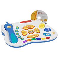 Развивающая приставка для Вашего ребенка Easy PC4601250206011Новый шаг в мировой истории развития компьютерных игр для детей! Игровой обучающий центр у Вас дома! Ваш ребенок растет и развивается с Comfy! Easy PC - развлекательная и обучающая система от Comfy, открывающая ребенкy в возрасте от 1 года до 5 лет целый мир веселья и интерактивных приключений! Большие разноцветные кнопки на клавиатуре, дружелюбные анимированные персонажи в играх, увлекательные истории и чудесная музыка! Easy PC позволяет детям учиться и развлекаться в процессе интерактивной игры, установленной на Вашем стационарном или переносном компьютере. Просто вставьте компакт-диск и начинайте играть. Наблюдайте, как ребенок нажимает на клавиши и участвует в различных интерактивных процессах. Easy PC помогает детям развить моторику и логические способности, речевые и математические навыки, эмоциональность и коммуникативные навыки, а также познакомиться с иностранными языками. К комплекту можно докупить дополнительные игры для развития мышления, логики,...