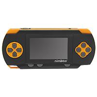 Портативная игровая система DVTech Nimbus 8 бит Classic, черно-оранжевая. 176 встроенных игрTWL-S-RA-EUUБольшое развлечение в портативном формате. Мы предлагаем вам новую встречу с классическими играми формата Денди, которые подарят вам много часов увлекательных развлечений. Приключения, леталки, гонки, стрелялки, бродилки и логические игры, выбирайте, что больше придется по душе и вперед к заветным победам.
