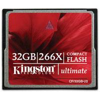 Kingston Compact Flash Ultimate 266x 32GBCF/32GB-U2Карты памяти Kingston CompactFlash Ultimate 266X: новая скорость, новый внешний вид! Фотографы, как любители, так и профессионалы, нуждаются в надежной флеш-памяти, удовлетворяющей их наиболее серьезным запросам. Именно для них компания Kingston выпустила новую линейку карт памяти CompactFlash Ultimate, не только выглядящих по-новому, но и обеспечивающие новую скорость обмена 266X при сохранении высочайшего качества и легендарной надежности от Kingston. Со скоростью чтения до 45 МБ/с и записи до 40 МБ/с, Вы сможете вести серийную съемку с большей скоростью, чем с традиционными CF картами. Кроме этого, владельцам карт CompactFlash Ultimate предоставляется возможность получить с сайта программное обеспечение для восстановления данных MediaRECOVER. С помощью MediaRECOVER , можно восстановить утерянные или удаленные файлы, а также восстановить испорченные файлы под управлением операционных систем Windows или Mac. Скорость: 45 МБ/с при чтении, 40 МБ/с при записи ...