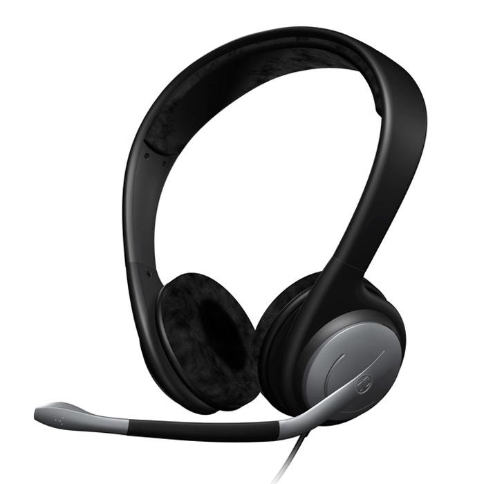 Sennheiser PC 151PC151Стереогарнитура Sennheiser PC 151 для динамичных компьютерных игр с фантастическим звуком высшего качества. PC 151, позволит Вам полностью сосредоточиться на своей игре. Закрытые, высококачественные наушники воспроизводят детализированный звук, насыщенный низкими частотами. Большие велюровые амбушюры и закрытая конструкция хорошо защищают от окружающего шума. Микрофон с элементом шумокомпенсации на регулируемом держателе гарантирует, что все члены команды Вас услышат. Гарнитуру также можно применять для прослушивания музыки и кинофильмов и для интернет телефонии.