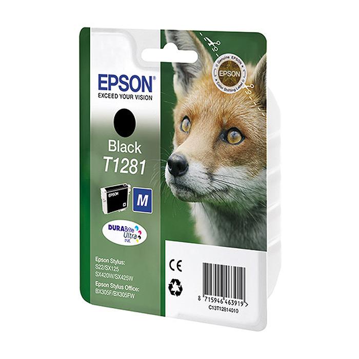Epson T1281 (C13T12814021), Black картридж для S22/SX125/SX425/BX305C13T12814021