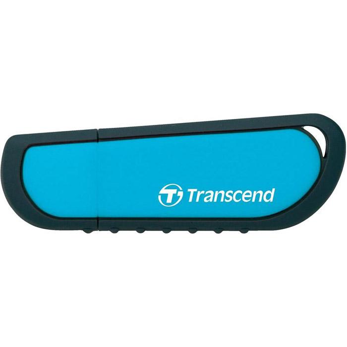 Transcend JetFlash V70 32GB (TS32GJFV70)TS32GJFV70Флэш накопитель Transcend JetFlash V70 в ударозащищённом силиконовом корпусе сохранит Вашу информацию любых условиях!