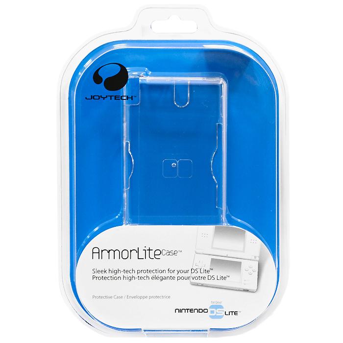 Защитный пластиковый футляр ArmorLite Case для Nintendo DS LiteT-B3176Защитный пластиковый корпус ArmorLite Case защитит Вашу Nintendo DS Lite от царапин и сколов. Пластиковый корпус обеспечивает прекрасный угол обзора и сохраняет свободный доступ к разъемам, портам и переключателям.