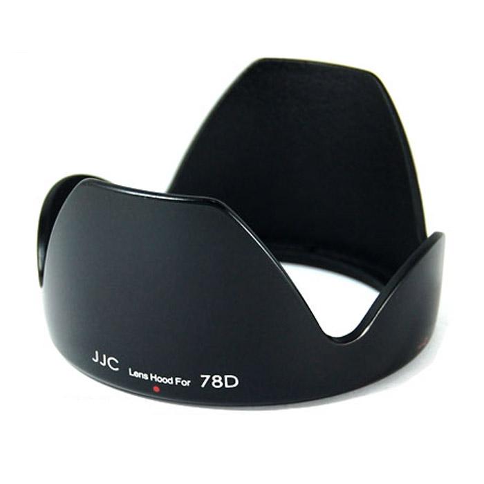 JJC бленда LH-78D для EF-S 18-200/3.5-5.6 IS USMJJCLH78DБленда JJC LH-78D для объективов Canon.