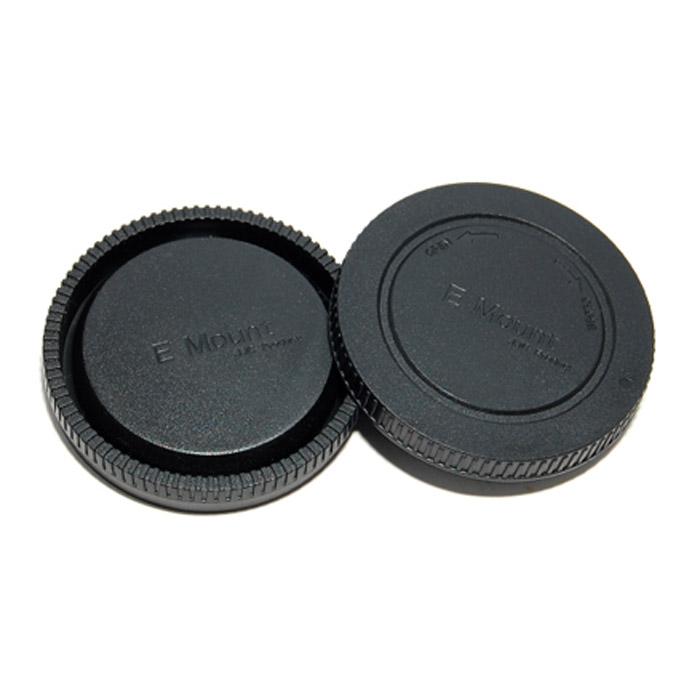 JJC крышка для объектива задняя + крышка байонета для фотокамер Sony NEX