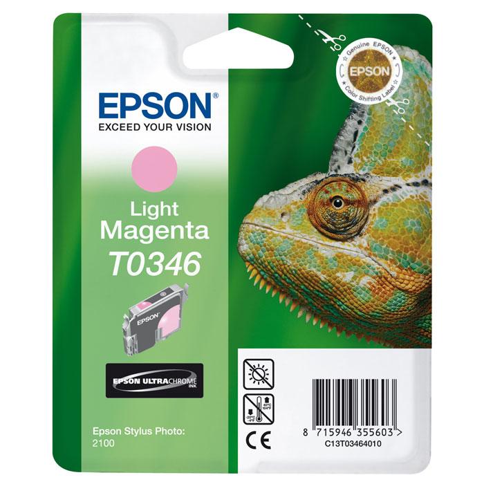 Epson C13T03464010 Magenta LightC13T03464010Картридж Epson с чернилами для струйной печати.