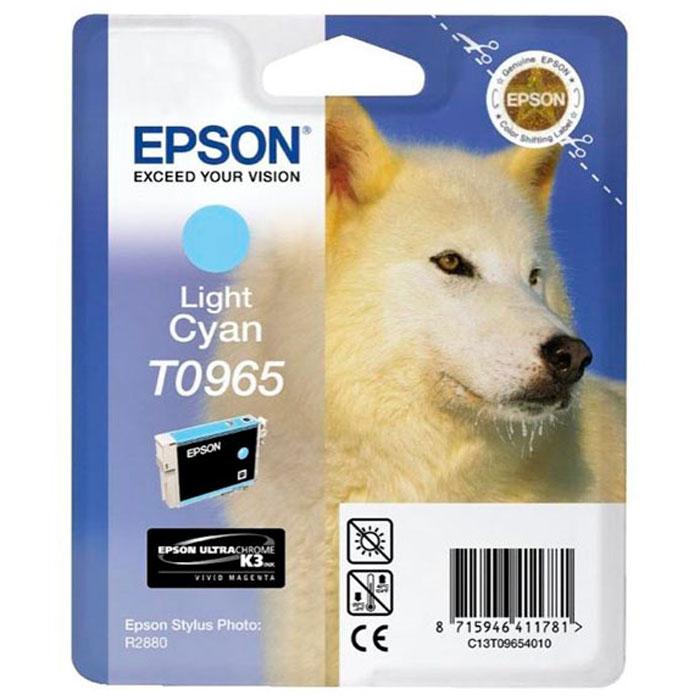 Epson C13T09654010 Light CyanC13T09654010Картридж Epson с цветными чернилами для струйной печати.