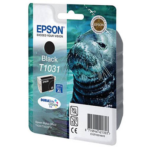Epson C13T10314A10 BlackC13T10314A10Картридж экстраповышенной емкости Epson с черными чернилами для струйной печати. Емкость: 25.9 мл