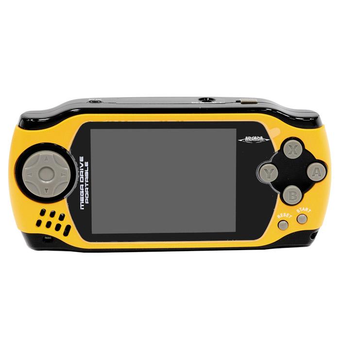 Портативная игровая приставка MegaDrive Portable Arcada (желтая) ( VG-1629 )