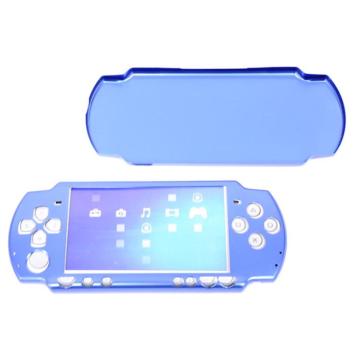 Защитный алюминиевый корпус Luxe для PSP 2000 (синий)PSP2000-Y028Защитный алюминиевый корпус Luxe для PSP 2000. Прочный и стильный корпус Aluminium Case Luxe, выполненный из сверхлегкого металла, надежно защитит и придаст оригинальный внешний вид вашей PSP Slim & Lite.