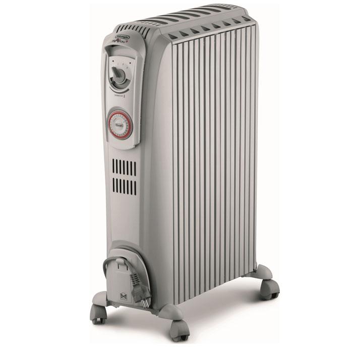 DeLonghi TRD40615 White радиатор масляный0110692303Масляный обогреватель DeLonghi, благодаря особенностям конструкции, создает каминный эффект, обеспечивая конвекционный поток и повышая эффективность теплового обмена.