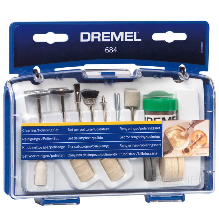 Набор оснастки для чистки Dremel 684 (26150684JA)