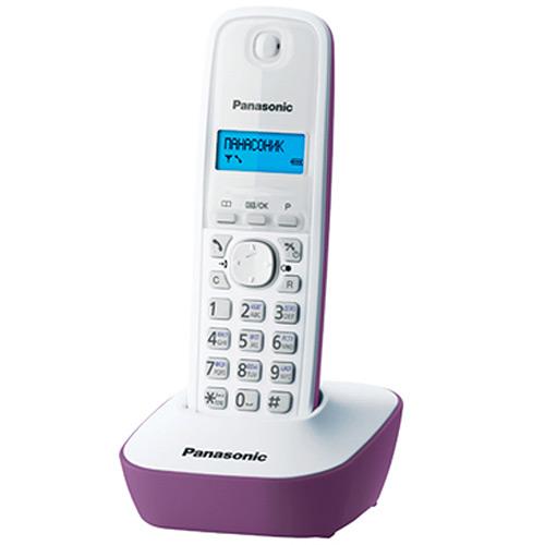 Panasonic KX-TG1611 RUF, Purple DECT телефон
