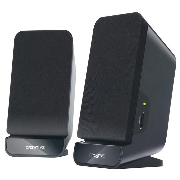 Creative A60980-000321Компактные и элегантные колонки Creative A60 обеспечивают качественное и надежное воспроизведение звука с MP3-плеера, ноутбука или ПК. Благодаря внешнему виду и размеру их можно разместить в любом месте – в офисе или дома. Кроме того, эта акустическая система с магнитным экранированием и двумя 2,75-дюймовыми высококачественными динамиками не вызывает помех на телевизоре или мониторе и при этом гарантирует качественный звук для любого прослушивания. Встроенный басовый порт помогает обогатить звучание басов и сделать звук более напряженным! Акустическая система формата 2.0 разработана для высококачественного воспроизведения звука с любого устройства – ПК, ноутбука или MP3-плеера. Встроенный басовый порт для получения глубоких и насыщенных басов при прослушивании. Элегантный и компактный корпус позволит установить колонки в любом доме или офисе, больше не нужно беспокоиться о том, что они загромоздят рабочий стол. Центральный регулятор позволяет с легкостью...