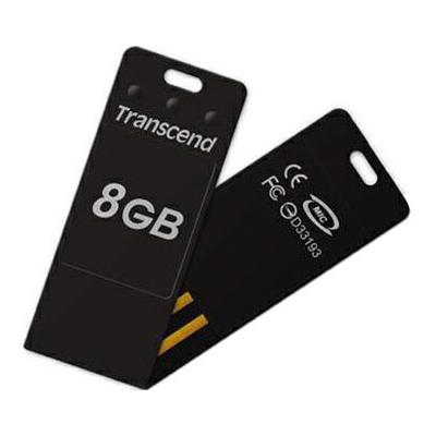 Transcend JetFlash T3 USB 2.0 8GB, BlackTS8GJFT3KTranscend JetFlash T3 отличается крохотными размерами, высокой степенью надёжности и демонстрирует впечатляющую устойчивость к различным механическим воздействиям, будь то сгибание, вибрация или удары. Устройство сделано с применением передовой технологии COB (Chip On Board) и упаковано в прочный корпус из поликарбоната, что позволяет носить флэшку со связкой ключей или в бумажнике, не опасаясь за её сохранность. Флеш-накопитель поставляется в комплекте со специальным программным обеспечением JetFlash elite, предоставляющим пользователю много полезных функций.