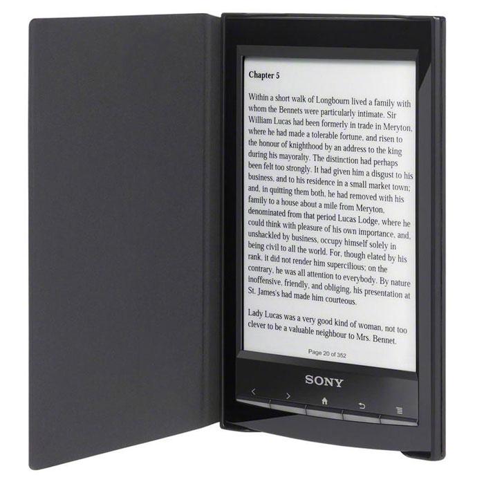 Ozon.ru - Электронная книга Sony Reader PRS-T1, Black + обложка для Reader, Black