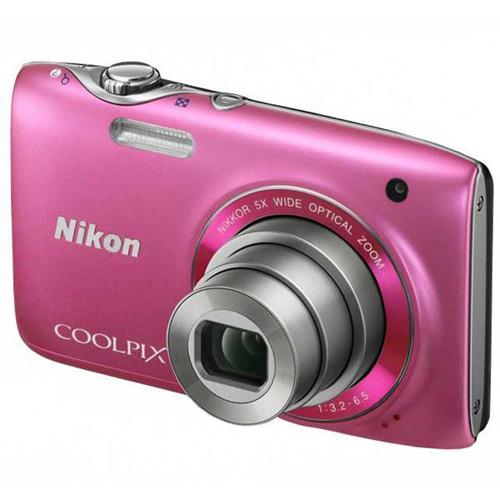 Nikon Coolpix S3100, Pink.
