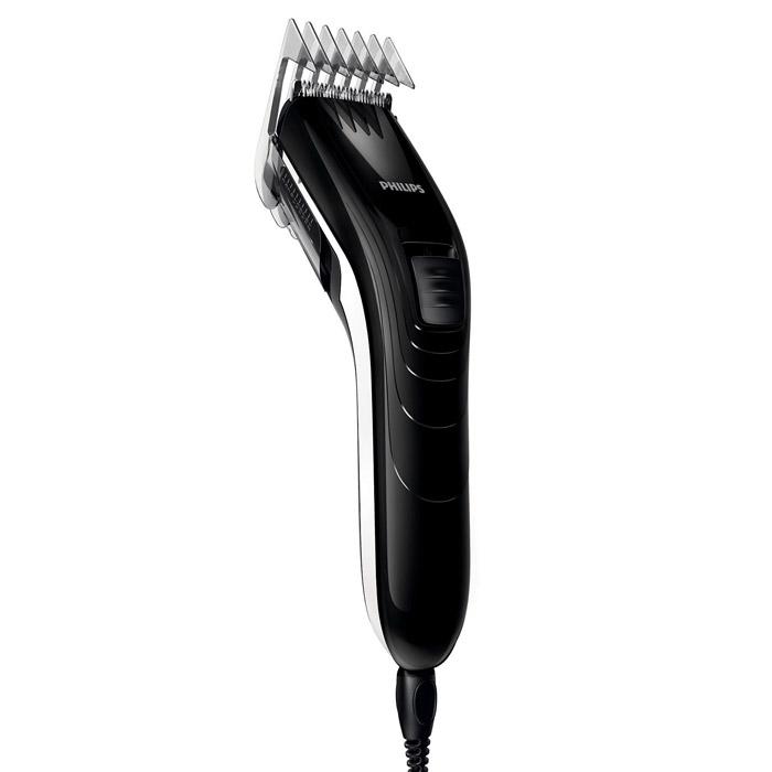 Philips QC 5115/15 машинка для стрижкиQC5115/15С помощью машинки для стрижки волос Philips QC 5115/15 создать ровную стрижку очень легко. Настройки длины на гребне позволяют подстричь волосы до нужной длины без необходимости смены гребней. Не требует специального ухода и смазки. Закругленные лезвия и гребни 10 настроек длины волос позволяют регулировать длину до 21 мм Интервал настроек длины составляет 2 мм для точного подравнивания Самозатачивающиеся лезвия из нержавеющей стали