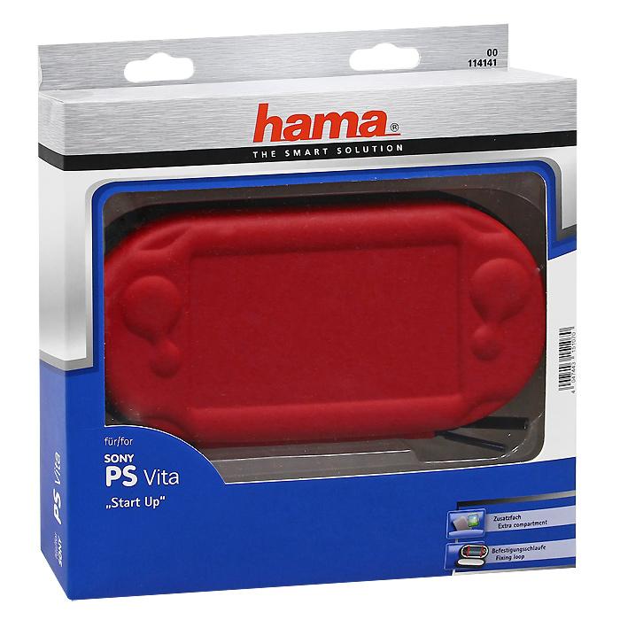 Чехол Start Up для Playstation Vita (красный)