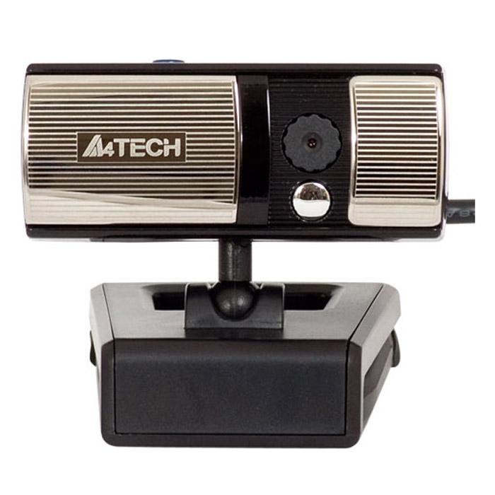 A4Tech PK-720G, Black веб-камераPK-720GA4Tech PK-720G - миниатюрная веб-камера со сдвижной крышкой. Больше никакой пыли на объективе! Разрешение видеосъемки 640x480 пикселей с возможностью интерполяции до 16 МПикс. Высокоскоростная передача данных USB 2.0 обеспечивает мгновенную передачу изображения на экран и высокое качество изображения при частоте кадров 30 в секунду (USB 1.1 также поддерживается). Встроенный микрофон обеспечивает качественную передачу звука во время интернет-общения. Универсальное крепление, с помощью которого вы можете поставить веб-камеру на стол или прикрепить к монитору. Сдвижная крышка на линзе защищает объектив от пыли и механических повреждений. С автоматической установкой экспозиции и баланса белого вы всегда будете выглядеть естественно, при любых условиях освещенности. Кнопка для фотосъемки позволяет сделать снимок одним нажатием. Видеосвязь Plug-and-Play. Для видеочата не нужно устанавливать программное обеспечение. Просто присоедините камеру к...