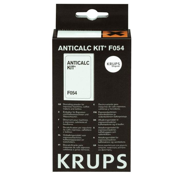 Krups F05400 Порошок для удаления накипи KRUPS F 054 (40г)F054001BПорошок Krups F054001 для удаления накипи для кофеварок.