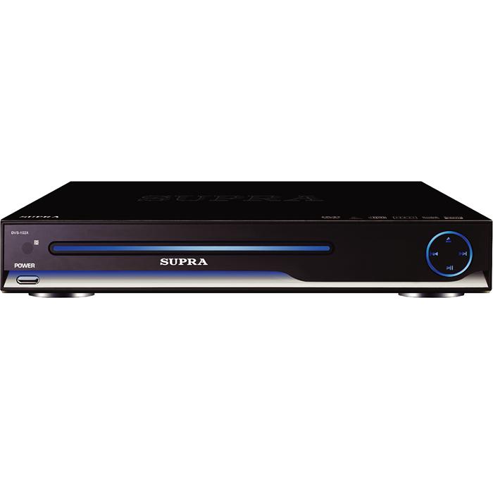 Supra DVS-102X, Black DVD-плеер