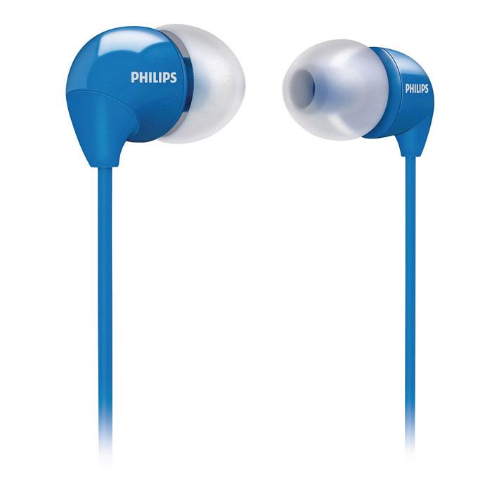 Philips SHE3590BL/10SHE3590BL/10Маленькие громкие динамики наушников-вкладышей Philips SHE3590 обеспечивают плотное прилегание и чистый звук с мощными басами. Идеальны для наслаждения любимой музыкой. В комплект входит 3 резиновых накладки разного размера, и вы гарантированно подберете пару, которая идеально подходит к вашим ушам. Крохотные излучатели обеспечивают плотность прилегания и полностью заполняют ушную раковину, что заглушает внешние источники звука и увеличивает впечатления от прослушивания. Мягкий резиновый сгиб между наушником и кабелем защищает соединение от разрыва при постоянном сгибании и продлевает срок службы.