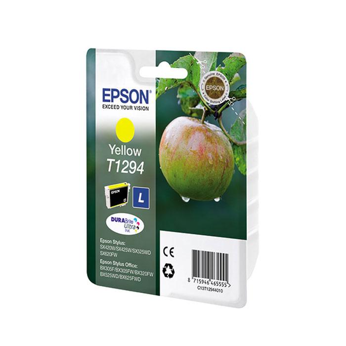 Epson T1294 (C13T12944011), Yellow картридж для SX425/SX525/BX305/BX320/BX625C13T12944011Картридж повышенной емкости Epson.
