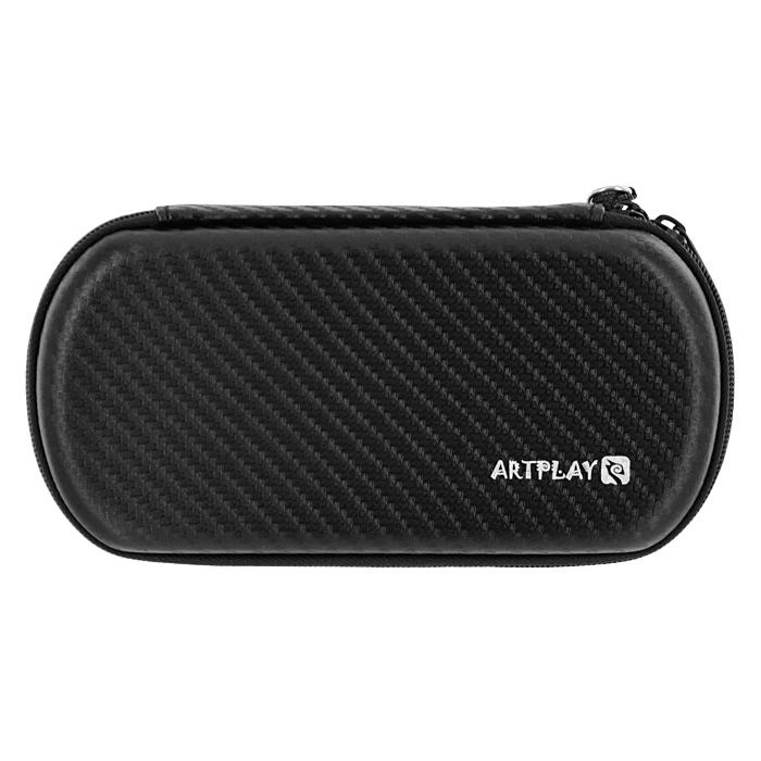 Защитная сумка ARTPLAYS EVA Pouch Carbon для PSP E1008 Street/3000 (цвет: черный)H-51793Надежная, компактная и вместительная защитная сумка для PSP E1008 Street/3000. Отлично сшита, швы занимают минимум места Имеет отделения для PSP, UMD-дисков и других аксессуаров
