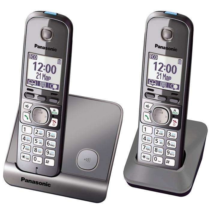 Panasonic KX-TG6712 RUMKX-TG6712RUMDECT телефон Pansonic KX-TG6712.