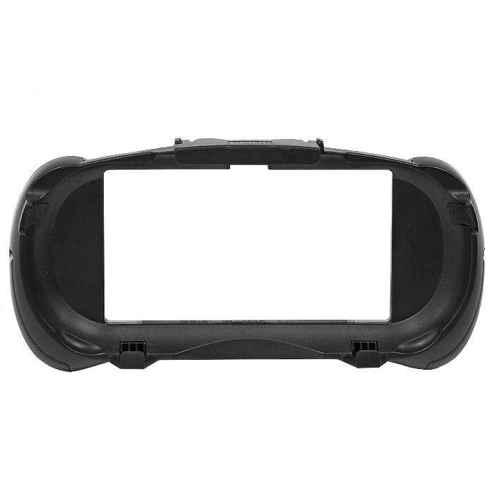 PS Vita: Cъемные рукояткиPSV-078ECъемные рукоятки для PlayStation Vita. Рукоятки можно сдвинуть вниз, что позволяет держать систему во время игры как геймпад После установки аксессуара доступны все разъемы и кнопки