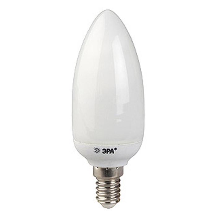 ЭРА CN-7-842-E14 яркий светC0044107Энергосберегающие лампы ЭРА CN-7-842-E14 в форме свечи полностью повторяют форму своих аналогов среди классических ламп накаливания, позволяя экономить электроэнергию, не изменяя привычный внешний вид люстр и декоративных светильников. Благодаря адаптивной системе зажигания обеспечивает мгновенное включение и плавный разогрев лампы за 1 минуту, что увеличивает ее срок службы.
