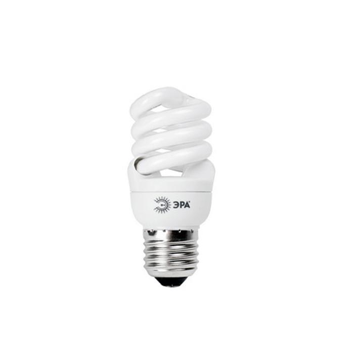 ЭРА F-SP-11-827-E27 мягкий светC0030760Компактная люминесцентная лампа ЭРА F-SP-11-827-E27. Применяется для домашнего использования. Служит прекрасной заменой обычной лампочки, так как обладает большим временем работы, повышенной энергосберегаемостью, имеет более ровное рапределение светового потока в объёме.Энергосберегающие лампы PREMIUM по своим габаритам не больше обычной лампы накаливания. Это позволит с легкостью заменить все лампочки в доме на энергосберегающие.