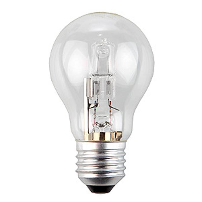 ЭРА Hal-A55-70W-230V-E27-CLC0038548ЭРА Hal-A55-70W-230V-E27-CL относится к линейке галогенных ламп, выполненных в колбах, повторяющиx стандартные лампы накаливания, но при этом по энергосберегающей технологии. Это отличная альтернатива привычным лампам накаливания, благодаря меньшему потреблению электроэнергии и гораздо большему сроку службы.