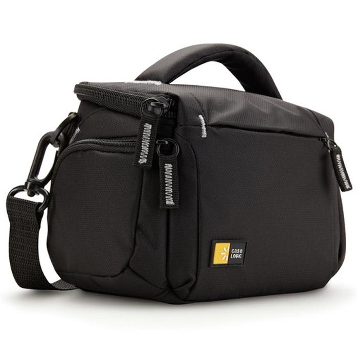 Case Logic TBC-405K, BlackCL_DC_TBC-405KКлассическая сумка CaseLogic TBC-405 для High Zoom фотокамер и компактных видеокамер. Мягкая внутренняя поверхность сумки защищает технику от царапин.
