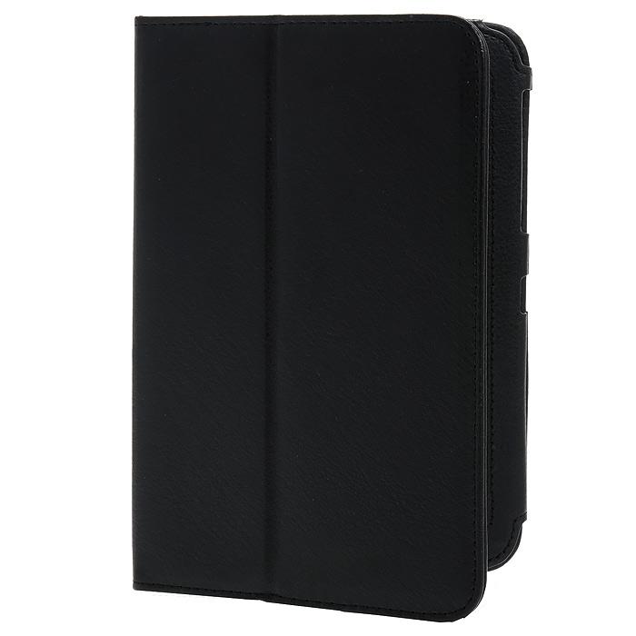 IT Baggage чехол для Samsung Galaxy Tab 7 P3100/P3110, Black (ITSSGT7202-1)ITSSGT7202-1IT Baggage для Samsung Galaxy Tab 2 7.0 - чехол-книжка с возможностью фиксации в горизонтальном положении. Предназначен для планшета Samsung P3100/3110, но можно использовать и для предыдущей модели P6200/6210. Обложка хорошо защищает поверхность экрана от механического повреждения, пыли или грязи. Даже при частом использовании в нём вашего планшетного компьютера, его хватит на несколько лет. Чехол выполнен из искусственной кожи с внутренней отделкой из текстиля с бархатистой фактурой. Фиксация на резинку не предусмотрена.