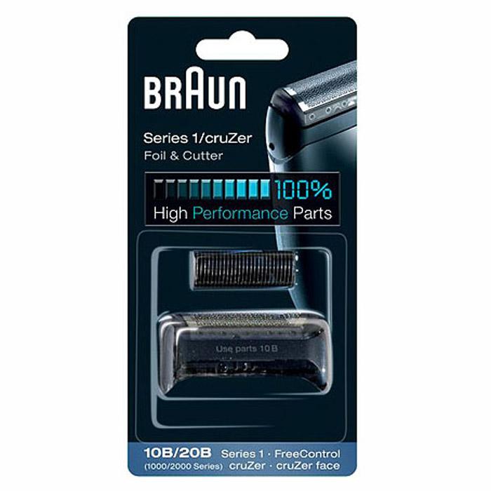 Braun Series1 10B сетка + блокSeries1 10B (для мод. 190,180)Бреющая сетка + режущий блок Braun Series 1 10B для бритв Braun Series 1 и FreeControl. Совместимые модели: Braun FreeControl 1715/1775/1735, Series 1 170/180/190