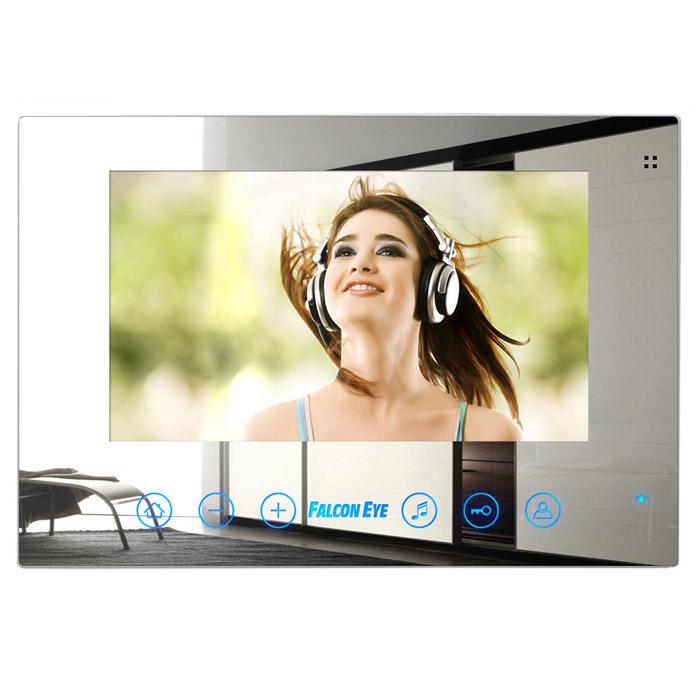 Falcon Eye FE-78Z цветной видеодомофонFE-78ZЗеркальный домофон Falcon Eye FE-78Z - это идеальное сочетание привлекательного и современного дизайна, впечатляющих характеристик и инновационных технических решений: сенсорное управление, зеркальная поверхность, 7-ми дюймовый TFT LCD монитор.