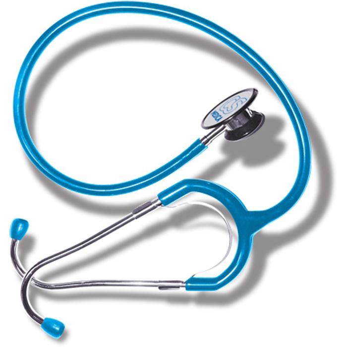 CS Меdica CS 417 стетофонендоскоп, Blue000 000 00047BlCS Меdica CS 417 стетофонендоскоп, который работает в одном из двух положений головки. Переключение прибора на работу с диафрагмой (функция фонендоскопа) или с коолколообразной чашечкой (функция стетоскопа) осуществляется поворотом головки на 180 градусов до щелчка. Большая и чувствительная диафрагма обеспечивает высокую разрешающую способность при аускультации сердечно-сосудистой системы, органов дыхания, а также внутренних органов брюшной полости.
