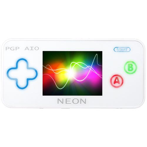 Портативная игровая приставка PGP AIO Neon (белая)