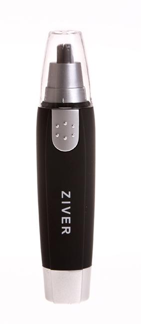 Триммер Ziver-107 для стрижки волос в носу и ушах10.ZV.007Триммер Ziver для стрижки волос в носу и ушах, с подсветкой поможет быстро и решительно избавиться от волосков в носу. Острые лезвия в одно мгновение срезают излишнюю растительность - и делают это очень чисто и быстро. Корпус триммера покрыт специальным прорезиненным составом, очень приятным на ощупь. К триммеру прилагается защитный колпачок и щеточка для чистки лезвий. Триммер работает от батарейки типа АА (не входит в комплект). Характеристики: Материал: пластик, металл. Размер триммера: 3 см х 3 см х 13 см. Размер упаковки: 18 см х 3 см х 7 см. Характеристики: Материал: пластик, металл. Размер триммера: 3 см х 3 см х 13 см. Размер упаковки: 18 см х 3 см х 7 см.