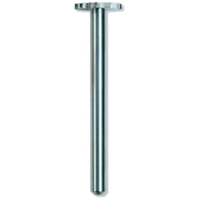 Насадка высокоскоростная 9,5 мм Dremel 199 (26150199JA) 2 шт26150199JAВысокоскоростные резцы Dremel 199 могут быть использованы для фасонирования, долбления пазов, шпунтования, долбления, изготовления конусообразных отверстий в мягких металлах, в пластмассе и древесине. Диаметр хвостовика 3,2 мм Рабочий диаметр 9,5 мм Длина насадки 39,0 мм Максимальная скорость 30.000 об/мин
