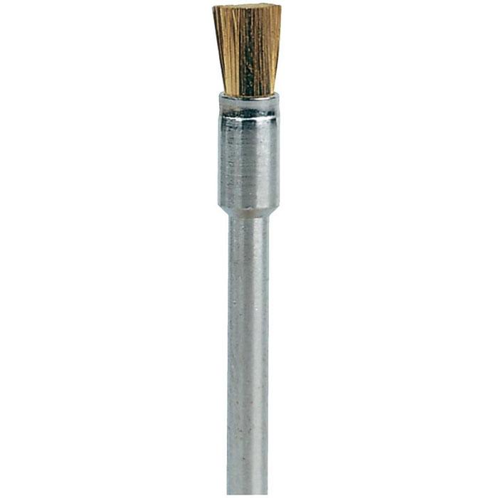 Латунная щетка 3,2 мм Dremel 537 3 шт.(26150537JA)26150537JAЛатунная щетка Dremel 537 используется чистки и полировки металлических изделий. Латунные щётки не искрятся и не такие жесткие, как сталь. Они не поцарапают мягкие металлы, такие, как золото, медь, латунь. Двухсторонние Типоразмер наконечника: PZ-1 Рабочая длина: 50 мм Используются без держателя Область применения: винтовертные работы