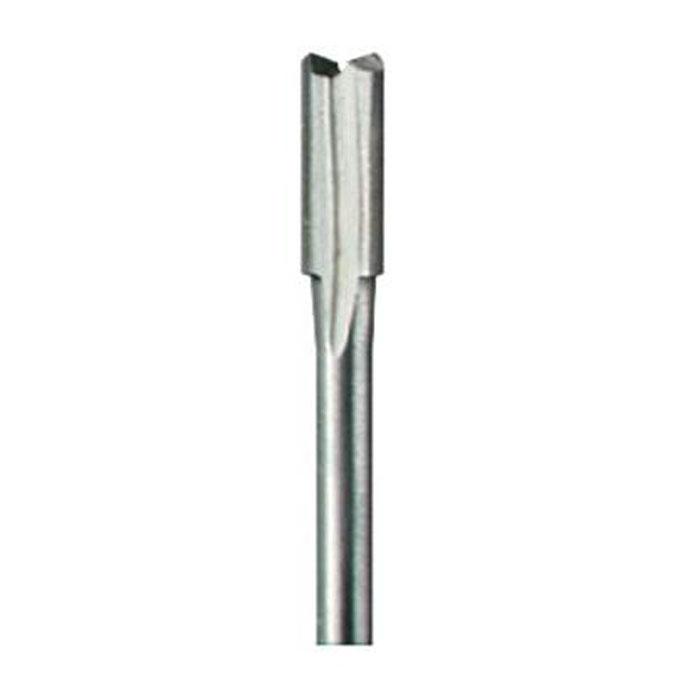 Фреза для прямого желоба 4.8 мм Dremel 652 (2615065232)2615065232Прямой резец Dremel 652 для фасонно-фрезерного станка используется при фрезеровании или изготовлении желобков общего назначения. Диаметр хвостовика: 2,4 мм Рабочий диаметр: 2,4 мм Максимальная скорость: 25 000 об/мин