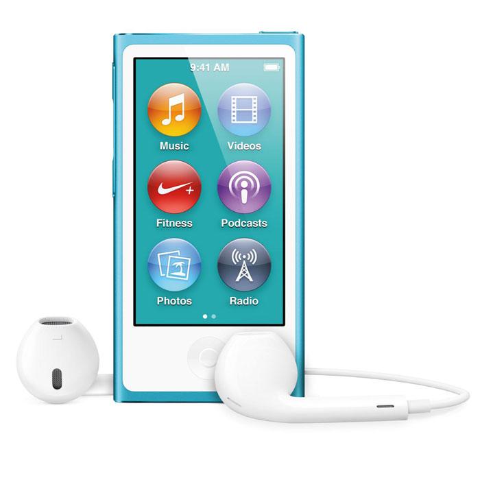 Apple iPod nano 16 GB (7 Gen), Blue