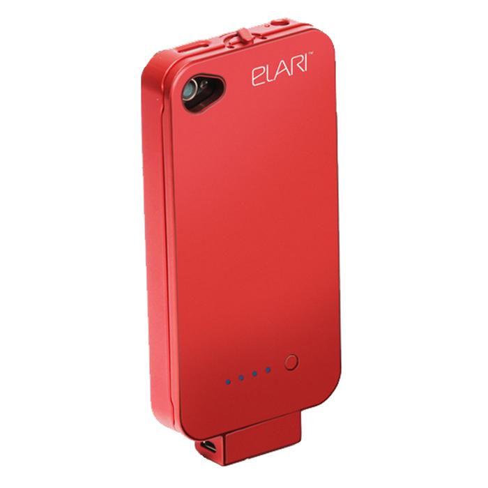 ELARI Apollo портативное ЗУ для iPhone 4/4S, Red