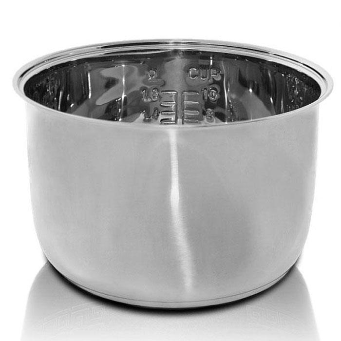 Redmond RIP-S2 чаша для мультиваркиRIP-S2Чаша Redmond RIP S2 выполнена из высококачественной нержавеющей стали и практически не боится механических повреждений и коррозии, поэтому ее можно использовать не только для приготовления блюд в мультиварке или духовом шкафу, но и как обычную кастрюлю. RIP-S2 очень удобна как дополнительная чаша к мультиварке REDMOND для приготовления супов, в том числе крем-супов и супов-пюре - ведь в такой емкости вы можете взбивать содержимое блендером, совершенно не опасаясь повредить внутреннее покрытие чаши. Высота: 145 мм Диаметр чаши: 240 мм Мерная шкала внутри чаши