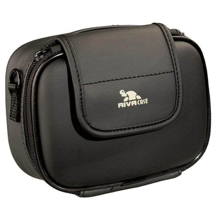 RIVACASE Riva 7080 (PU) Digital Case, Black чехол для фотокамеры