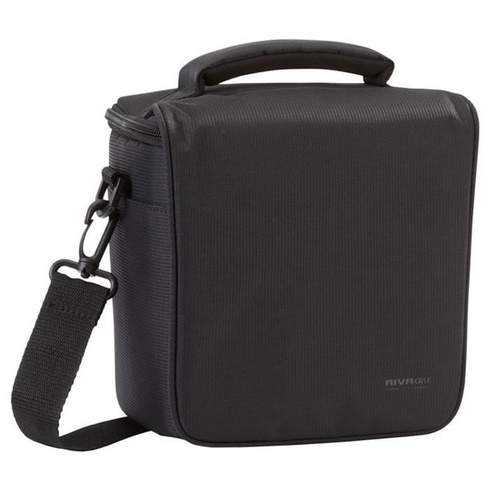 Riva 7302 (PS) SLR Camera Bag, Black сумка для фотокамеры
